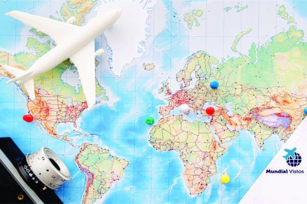países com e sem restrições para viagens de brasileiros